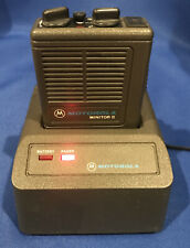 Motorola Minitor Ii Vhf 2 Freq. Pager 155.2950 155.2800 with Battery & Charger