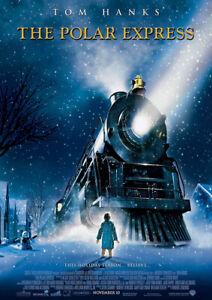THE POLAR EXPRESS 2004 Robert Zemeckis – Movie Cinema Poster Art Print
