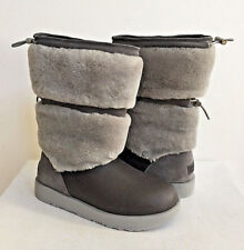 UGG REYKIR WATERPROOF METAL LEATHER DRAWSTRING Boot US 8.5 / EU 39.5 / UK 7 NIB