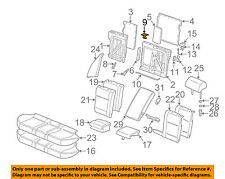 BMW OEM 00-06 X5 Rear Seat-Seat Belt Guide 52208216276