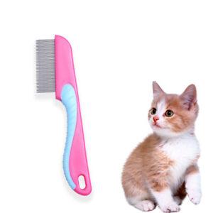 Flea Ticks Lice Comb Grooming Tool For Dogs Cats Puppy Kitten Random Color