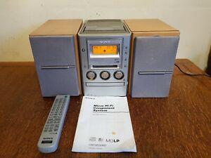 SONY CMT-M100MD CD, TAPE, MINIDISK, TUNER Micro HiFi System