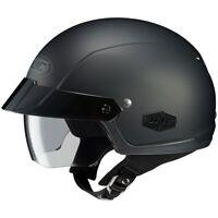 HJC IS-Cruiser Half Shell Open Face Motorcycle Helmet - Matte Black - Size: XS