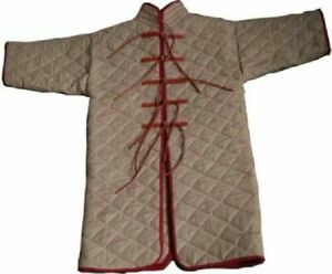 Medieval Gambeson medieval Padded collar full sleeves HALLOWEEN GIFT FOR