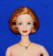 X-Files Barbie Nude Doll From Gift Set Barbie doll Only No Box No Stand Pls Read