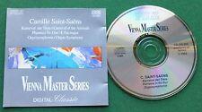 Saint-Saens Karneval der Tiere + Orgelsymphonie Vienna Master Series CD