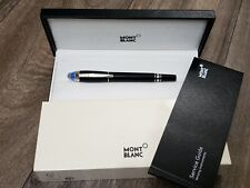 Montblanc Starwalker Fountain Pen - Blue Dome - M nib - Mint condition