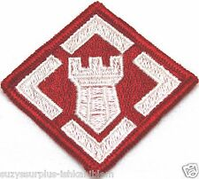 US 20th Engineer Brigade Patch full color embroidered each P5075
