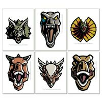 Jurassic World Tattoos x 12 - Birthday Supplies - Party Favours - Loot Bags