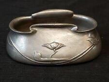 Art Nouveau TUDRIC Pewter Sugar Bowl Arts & Crafts Era Archibald Knox Liberty