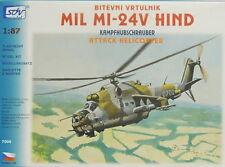 Kampfhubschrauber Mi-24V Hind , HO, 1/87, SDV, Plastikbausatz, NEU