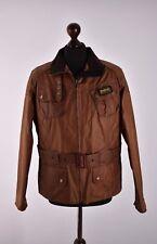 Women's Barbour International Biker Waxed Casual Jacket Size 16 Genuine Mint