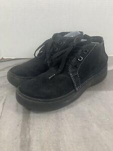 Crocs Brown Suede Hi Cruiser Chukka Boots Mens Size 10