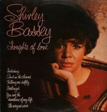Shirley Bassey(Vinyl LP)Thoughts Of Love-United Artist-UAS 30011-UK-197-VG+/Ex
