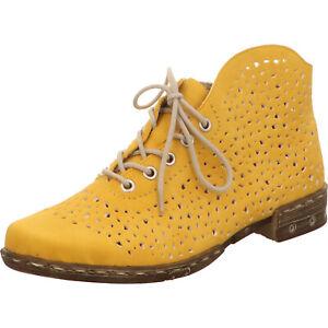 Rieker Damen Knöchelschnürer gelb M1835-68