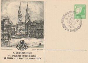 3. Reichsbundestag Bremen 1938 ngl 70.028
