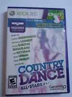 Country Dance All-Stars Microsoft Xbox 360, 2012 TESTED & COMPLETE
