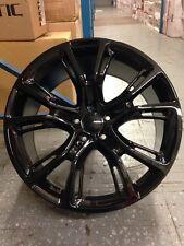"4  JEEP SRT8 20"" Gloss Black Black Wheels OE 20x10 Grand Cherokee"