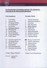 II. BL 2000/01 VfL Osnabrück - SpVgg Greuther Fürth, Mannschaftsaufstellung