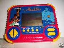 VINTAGE HANDHELD GAMES 2 DISNEY ALADDIN LION KING CARTOON MOVIE TIGER 1990 2-4-1