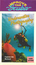 UNDERWATER PHOTOGRAPHY VHS Improve Your Scuba Video NEW