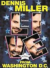 Dennis Miller Live from Washington D.C. (DVD, 2000 Subtitled French and Spanish)