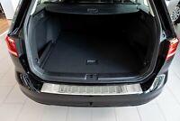 Edelstahl Ladekantenschutz VW PASSAT VARIANT B8 Passgenau Abkantung 11.14-5.19