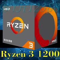 AMD Ryzen 3 1200 Desktop CPU Processor Socket AM4 with Wraith Stealth Cooler