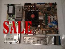 1 GB DDR AMD 2800 CPU WD 40 GB HDD HP módem SATA mATX M/Board JOBLOT HSF Pio