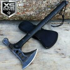 """15"""" Stonewashed Hunting Tomahawk Battle Hatchet Throwing Axe w/ Hammer Camping"""