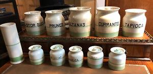 Kleen Kitchen Ware Pots. Currants, Sultanas, Castor Sugar, Tapioca & More…