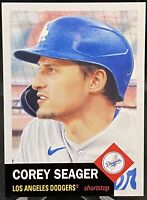 2020 Topps Living Set Corey Seager #359 Los Angeles Dodgers SP Print Run 2806