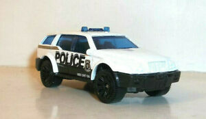 LOOSE 2021 MATCHBOX 1:64 WHITE SPORT SUV MBX POLICE from multipack