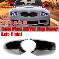 M3 Stil Spiegelkappe Gehäuse L+R ERSATZ Schwarz für BMW E90 E91 E92 E93 PRE-LCI
