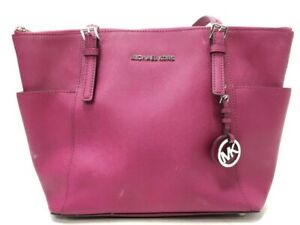 KORS BAG pink Purple Tote Handbag purse bag
