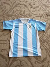 Argentina Home Messi World Cup Men Jersey
