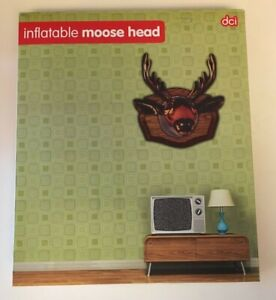 Inflatable MOOSE ELK HEAD- NEW IN THE BOX NEVER OPENED! For Man Cave - She Shed