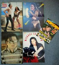 9x Original 90s Retro MICHAEL JACKSON Magazine Posters (4x centrefold + 5x A4)