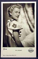 Eva Probst - Photo Postcard - AK - Foto Autogramm Karte (Lot G-5083