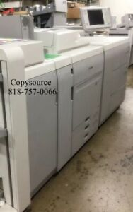 CANON  IMAGEPRESS C700 COLOR COPIER W/FINISHER AND LARGE PAPER DECK+FIERY