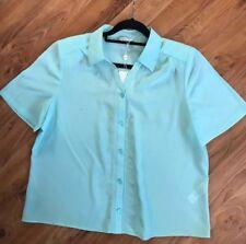 Ladies Sheer Blouse From Eastex Bnwt Size Uk 18 Jade