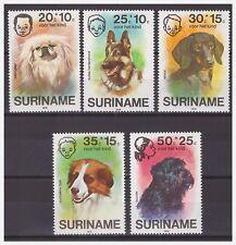 Surinam / Suriname 1976 Honden dogs hunden chien MNH