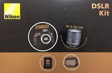 Digitale SLR-Kamera Nikon D5600 DSLR Kit + AF-S 18-105 VR DX, Neu + ovp