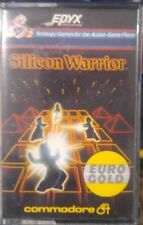 Silicon Warrior (Epyx / Eurogold, 1983) C64 (small Box, Tape, Manual) 100% ok
