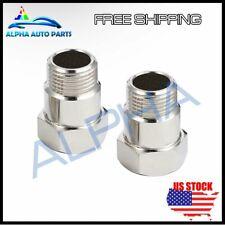 2* O2 oxygen sensor extension extender adapter spacer M18X1.5 CEL FIX Bung USA