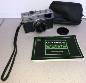 Olympus 35 RC Rangefinder Camera E Zuiko 1:2.8 f=42mm lens