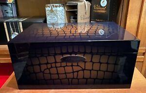 S.T. Dupont Humidor, Neu und originalverpackt, TOP Design, FULL SET,UVP € 559,--