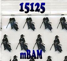 """100 PACK BLACK SAMAURI 15125 Apple Ziplock Baggies 1.5x1.25"""" Mini Bags"""
