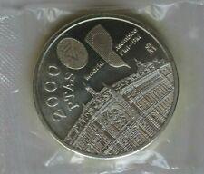 MONEDA PLATA 2000 PTAS. 1994 CUMBRE DEL F.M.I.       COIN SPAIN
