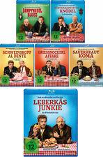 6 Blu-rays * EBERHOFER FANSET- ALLE 6 FILME INKL. LEBERKÄSJUNKIE IM SET# NEU OVP